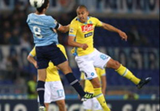 Lazio 3-1 Napoli: Mauri wondergoal the highlight as Romans land crucial blow in Champions League race
