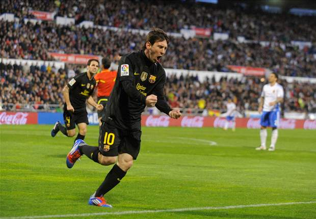 Hantam Zaragoza, Barcelona Pangkas Selisih Poin Dengan Real Madrid