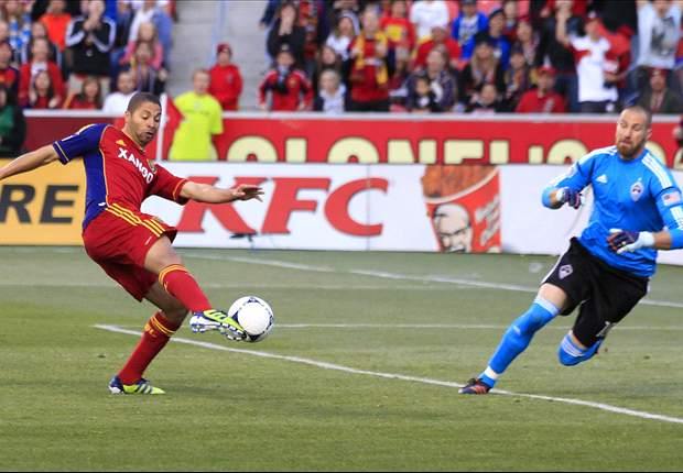 Real Salt Lake 2-0 Colorado Rapids: Alvaro Saborío and Fabian Espindola lead RSL past Colorado in the Rocky Mountian Cup