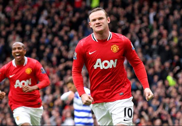 Manchester United 2-0 QPR: Rooney & Scholes on target as Red Devils create clear daylight at top of table