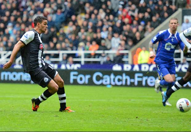 Newcastle 2-0 Bolton: Ben Arfa stunner & Cisse goal maintains Toon Army's top-four charge