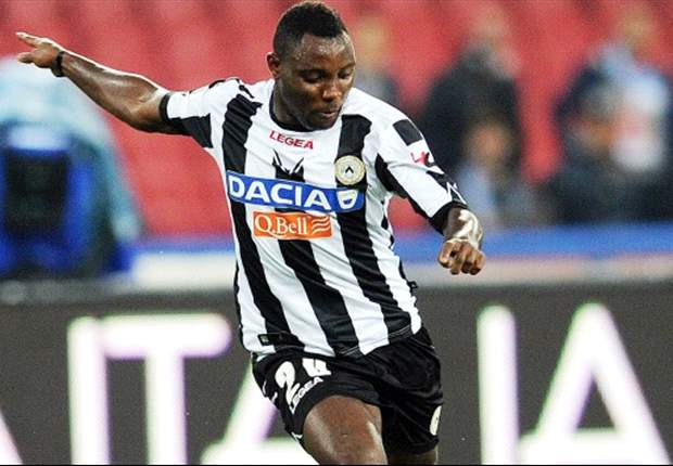 Udinese deny agreement with Juventus for Asamoah