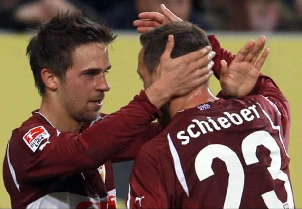 Vor dem Tor effektive Stuttgarter besiegen Augsburg mit 3:1