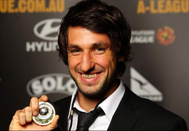 Thomas Broich takes out Johnny Warren Medal for A-League's best