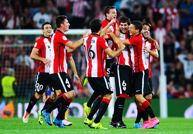 Athletic Bilbao 4-0 Barcelona: Aduriz hits hat-trick in Supercopa shocker