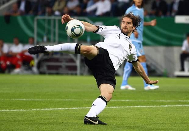 Arne Friedrich vor seinem Pflichtspieldebüt in der MLS
