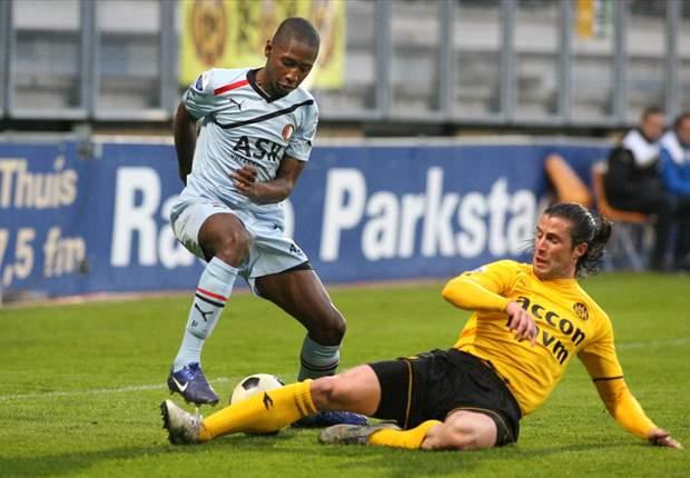 Duur puntenverlies Feyenoord bij Roda