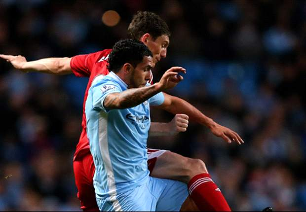 TEAM NEWS: Tevez & Aguero continue in attack for Manchester City's clash against Norwich City
