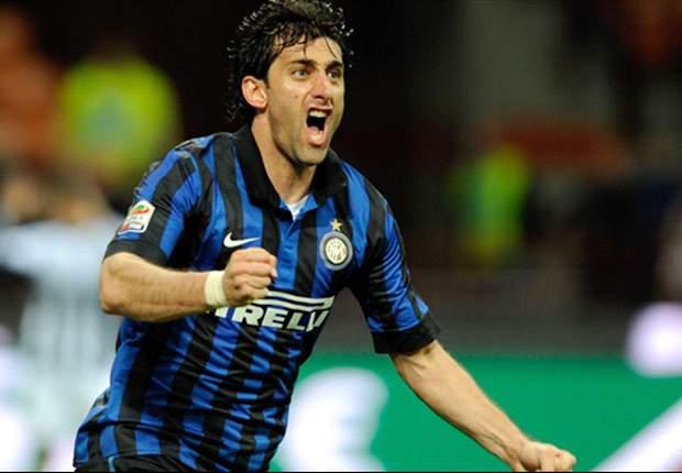 """Milito vuole il derby e... l'Inter: """"Vogliamo vincere e basta. Il mio futuro? Sto bene in nerazzurro e rimarrò qui"""""""