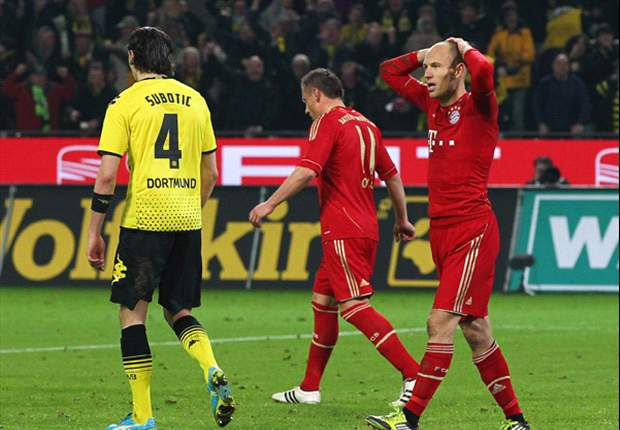 Robben bewildered by penalty miss against Borussia Dortmund