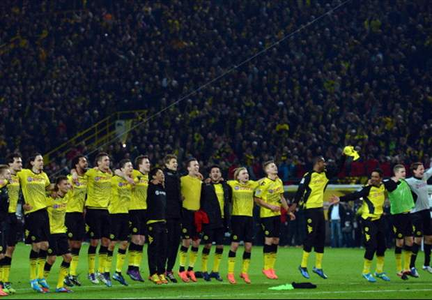 Dortmund retain Bundesliga title after win over Monchengladbach