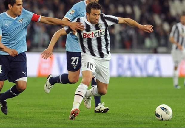Juventus dankzij Del Piero terug aan kop