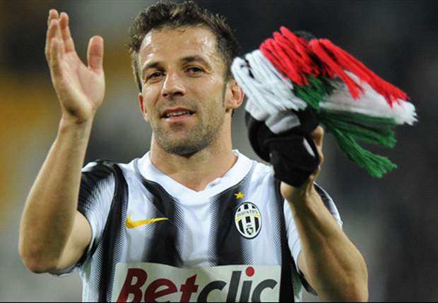 The last time you will see Del Piero in a Juventus shirt - Five rea