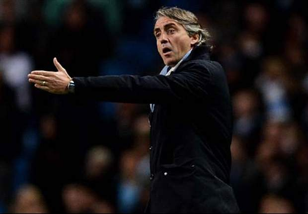 Manchester City boss Mancini: 'Anything can happen but United have more chance than us'