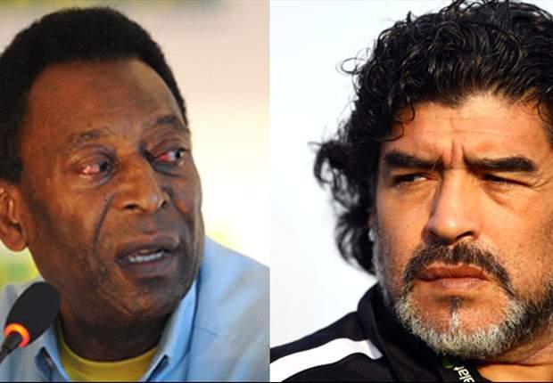 Pele reveals friendship with Maradona: Dieguito loves me