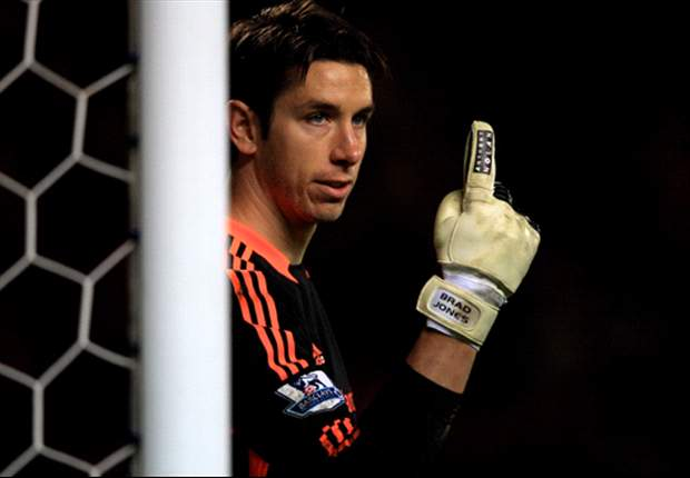 Brad Jones undaunted by Anzhi's stars after training against Gerrard & Suarez