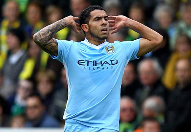 Mancini: Manchester City have missed Tevez this season