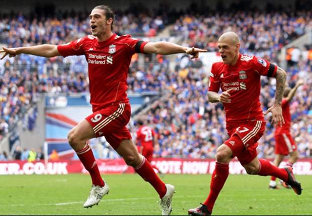 Gerrard hails Carroll after Liverpool's late FA Cup semi-final win over Everton