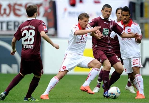 Lautern taumelt Richtung Zweite Bundesliga und unterliegt Nürnberg mit 0:2