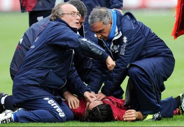 GAZZETTA DELLO SPORT - La tragedia di Morosini ferma il calcio italiano, Abete ha deciso in pochi attimi. Maldini punge il Milan, Masiello tira in ballo anche Vives nel 'tarocco' di Bari-Lecce