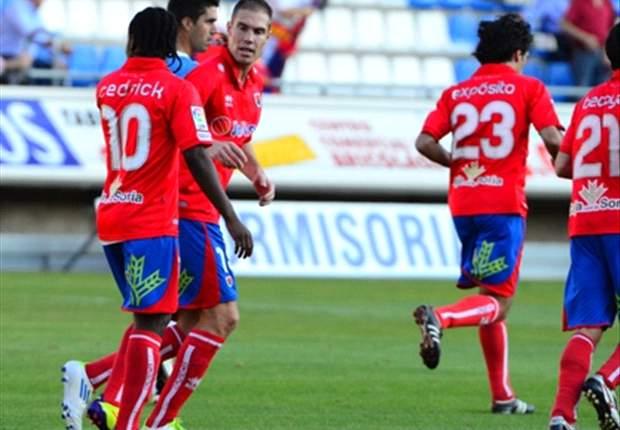 Numancia 1-0 Murcia: Un golazo de Sunny le da la victoria ante el Murcia