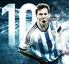 GALERÍA | Los 10 años de Leo Messi con Argentina