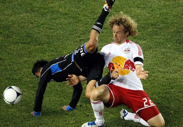 New York Red Bulls 2-2 San Jose Earthquakes: Road point comes at injury cost for 'Quakes