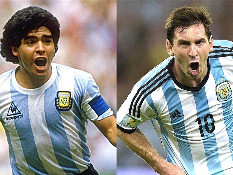 Poll: Who was greater, Messi or Maradona?