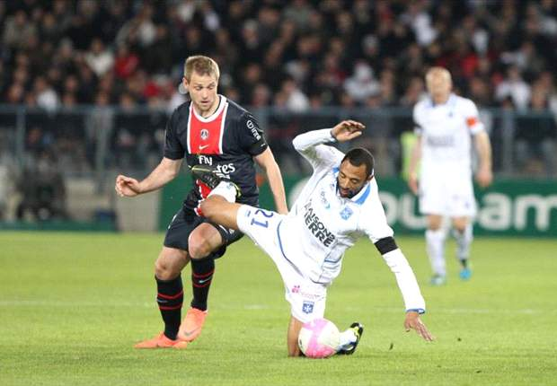 Auxerre 1-1 Paris Saint-Germain: Le Tallec shocks wasteful PSG