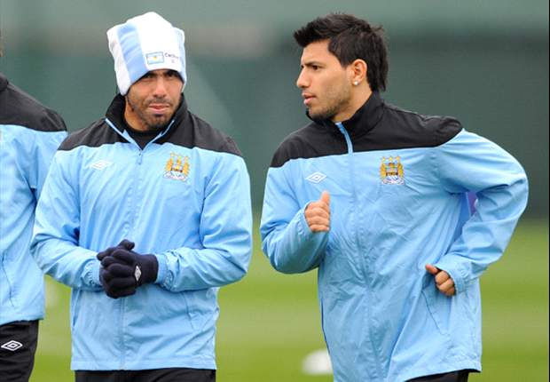 Tevez hoping to strike up dream partnership with Aguero at Manchester City