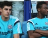 Chelsea star Courtois aims jibe at Mikel