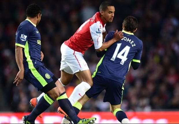 Arsenal tropeça diante do Wigan