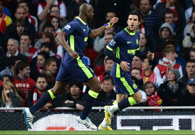 Arsenal 1-2 Wigan: Vermaelen header not enough as early Di Santo & Gomez strikes earn victory for heroic visitors