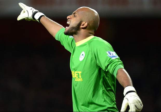 Wigan goalkeeper Al Habsi faces race to be fit for Liverpool clash