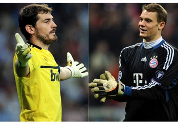 Who is the better goalkeeper? Neuer v Casillas head-to-head