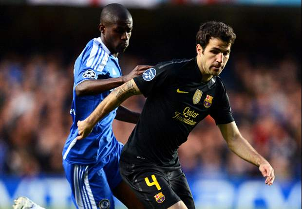 Fabregas: Luck was on Chelsea's side