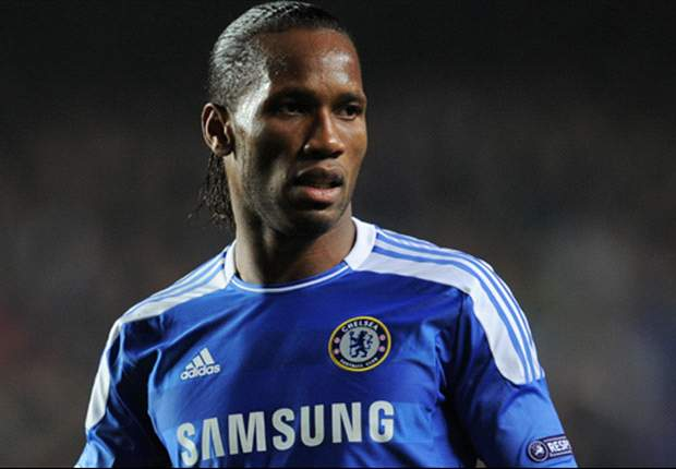 Di Matteo not sure if Drogba will be fit for Chelsea's trip to Barcelona