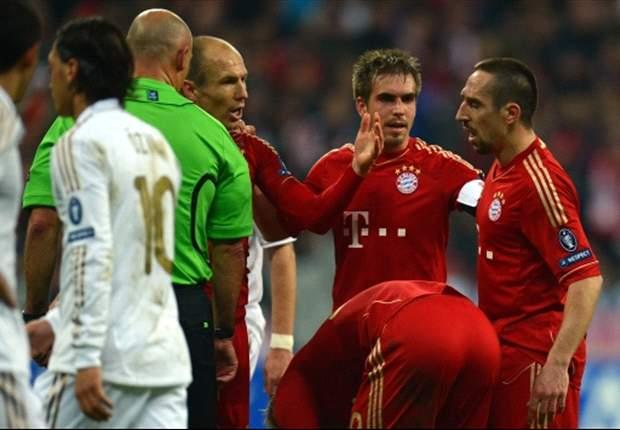 Robben en Ribéry weer goede vrienden
