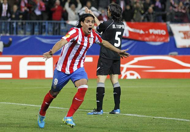 Focused Falcao committed to Atletico Madrid