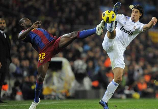 Abidal resumes Barcelona training
