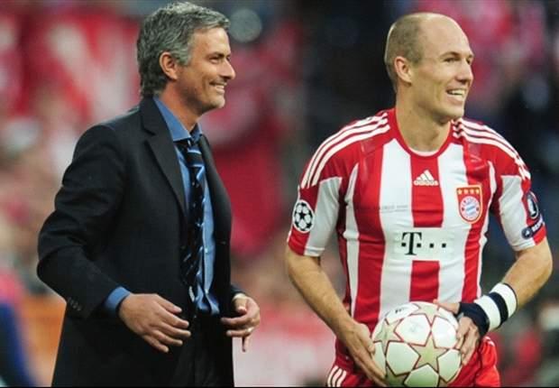 Robben lacks the will to win, says Mourinho's spokesman