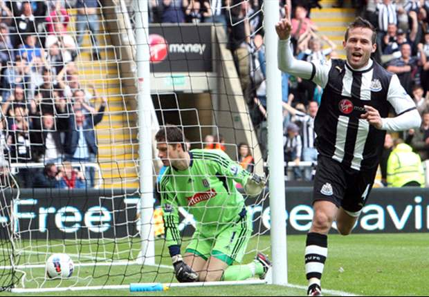 Newcastle 3-0 Stoke City: Cabaye double makes it six straight wins to boost rampant hosts' top four hopes