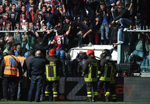 Spielunterbrechung in der Serie A: Spieler des FC Genua müssen Trikots hergeben