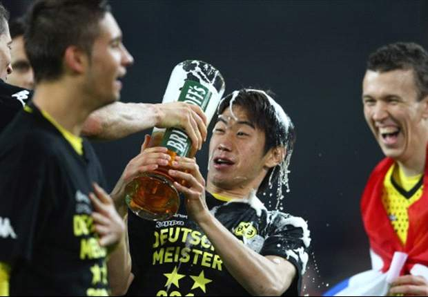 Japan's Bundesliga champion Shinji Kagawa wins the Goal.com readers' Asian Player of the Month for April