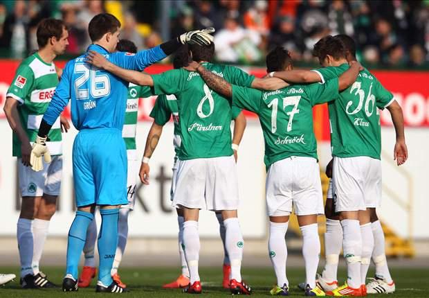 Greuther Fürth hat Nordlicht Werder Bremen zu Gast