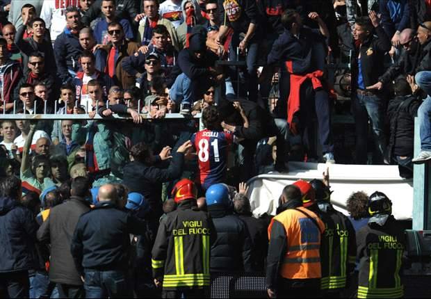 Nach Trikot-Skandal: FC Genua vom Verband bestraft