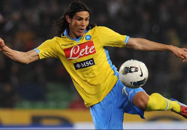 Juventus not giving up on Cavani