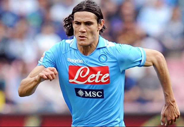 Cavani not leaving Napoli, says De Laurentiis