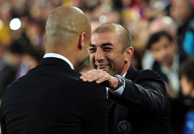 Chelsea boss Di Matteo hails Guardiola in wake of Barcelona resignation