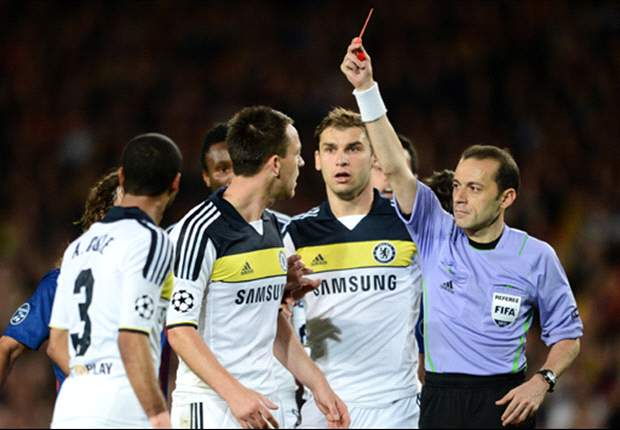 Turkey's no-nonsense debutant - Euro 2012 referee Cuneyt Cakir